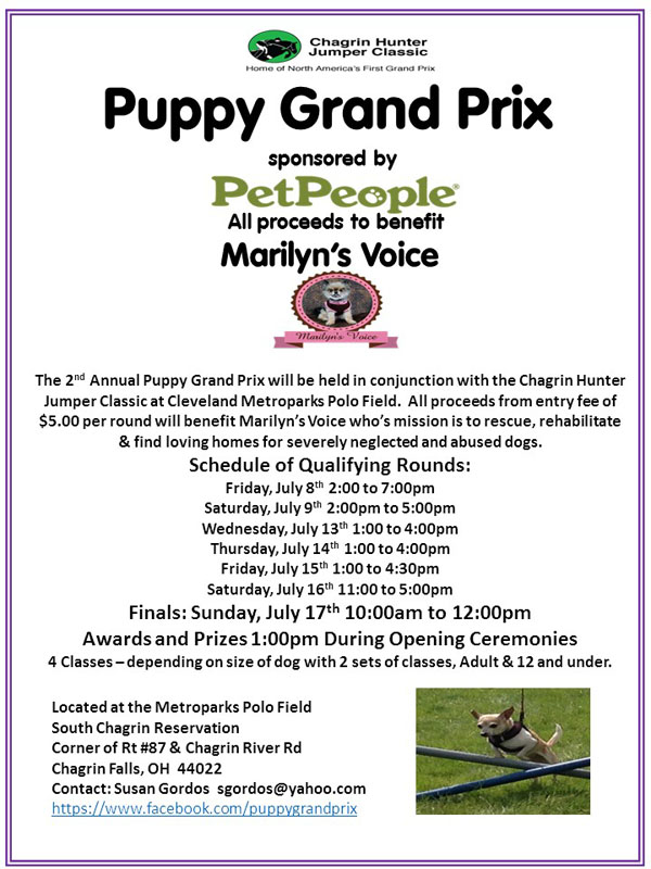 Puppy Grand Prix