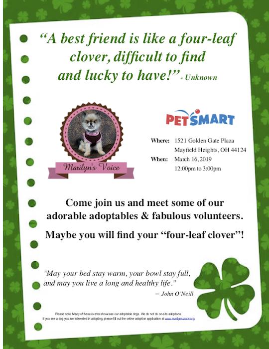 MV Event Flyer 3.16.19 Petsmart Mayfield copy